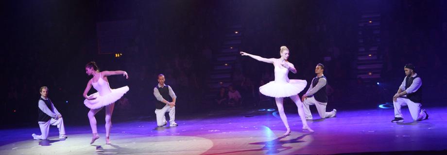 Breakdance-Ballett