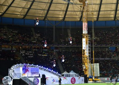 Berliner Turnerjugend - Internationales Deutsches Turnfest 2017 in Berlin, Stadiongala im Olympiastadion