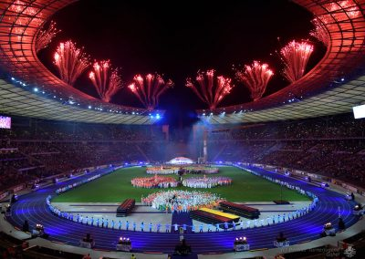 Berliner Turnerjugend - Internationales Deutsches Turnfest 2017 in Berlin, Stadiongala im Olympiastadion